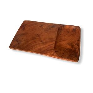 Handcrafted Olive Cheese Charcuterie Serving Tray